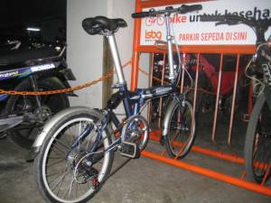 Urbano 5.0 @bicycle parking area